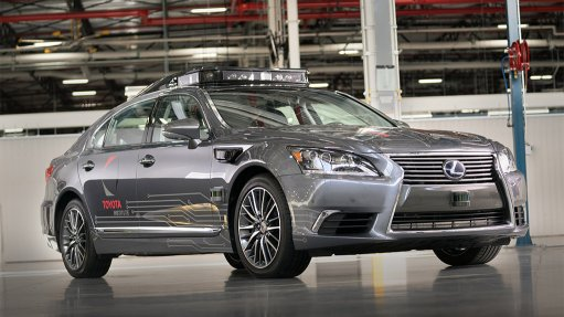 Next-generation automated driving vehicle introduced