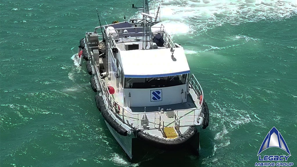 Legacy Marine (Pty) Ltd Launches New Vessel For Stapem Offshore