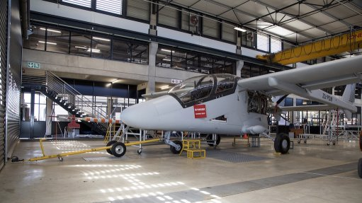 MADE IN SOUTH AFRICA Paramount Group's Mwari aircraft is a testament of digital technology at work as it is designed entirely in a digital format, thereby enabling for a jigless construction