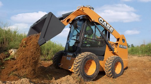 CASE IN POINT CASE Construction South Africa's skid steer loaders have advanced features for improved performance, enhanced productivity and increased operator comfort