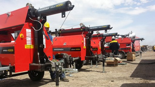 Himoinsa solutions provide light, power to Southern African mines
