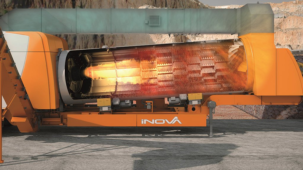 ONE FOR THE ROAD  The iNOVA 2000 is the first fully mobile asphalt plant in South Africa