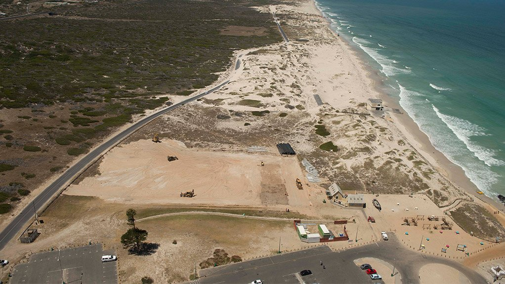CONSTRUCTION ON COURSE The construction of the two seawater desalination plants by Water Solutions - Proxa JV in Strandfontein and Monwabisi, in the Western Cape, is under way