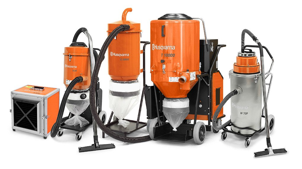 NEW PRODUCT Husqvarna will be introducing a hassle-free, safe and efficient way to manage concrete, dust and slurry