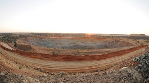 Kalgold openpit mine, South Africa