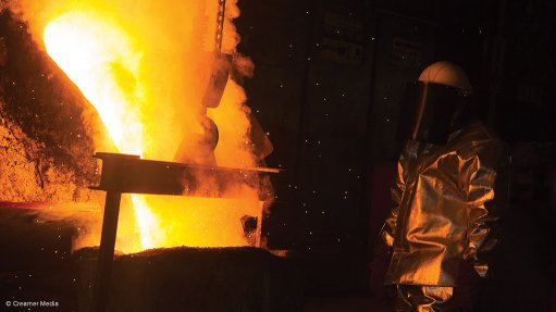 STEEL FORGED Not all of the steel required in South Africa is economical to produce in the country