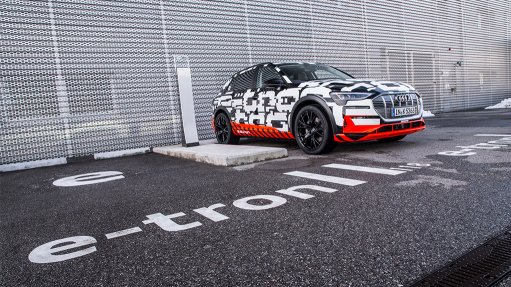 Audi unveils first electric vehicle in Geneva, set for SA launch by 2020