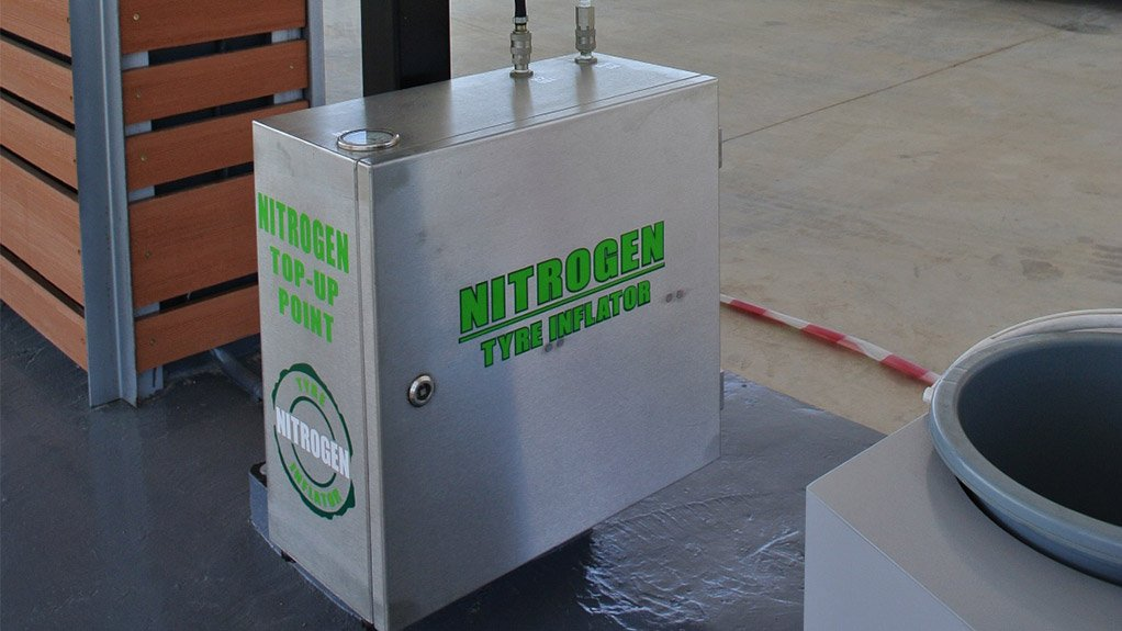 NITROGEN GENERATORS AND INFLATORS WIDELY AVAILABLE Nitrogen generators and tyre inflators are widely available at petrol stations all over the country