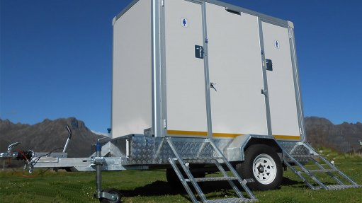 Innovative mobile toilet solutions suit mining industry