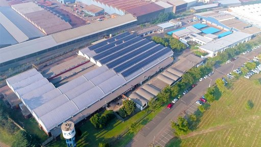 Wadeville microgrid  using second-hand car  batteries for storage