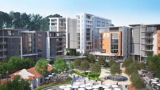 Phase 1 of Loftus Park mixed-use development nears completion