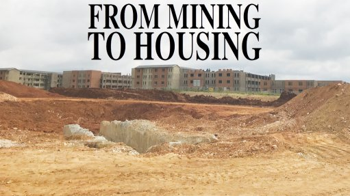 Massive housing project being developed on historical mining area near Joburg CBD
