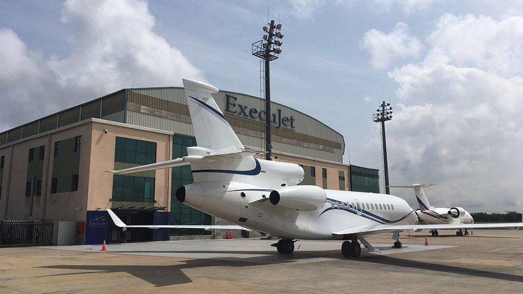 ExecuJet's facility in Lagos