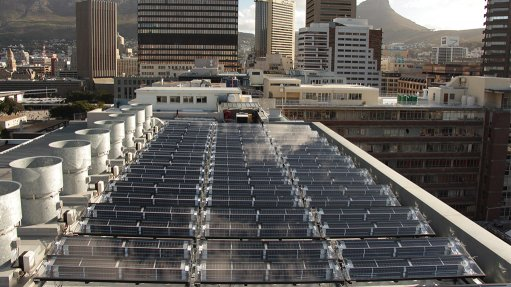 Large-scale commercial hybrid photovoltaic and thermal project in Cape Town