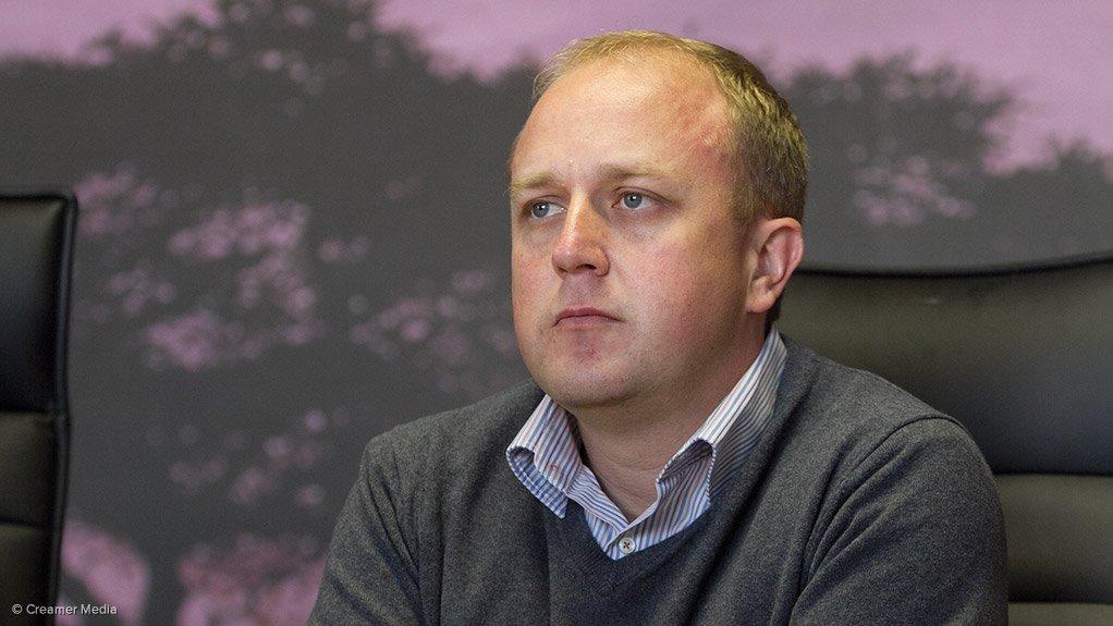 AfriTin CEO Anthony Viljoen
