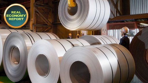 Renewed optimism in industry for Middelburg-based Columbus Stainless steel plant