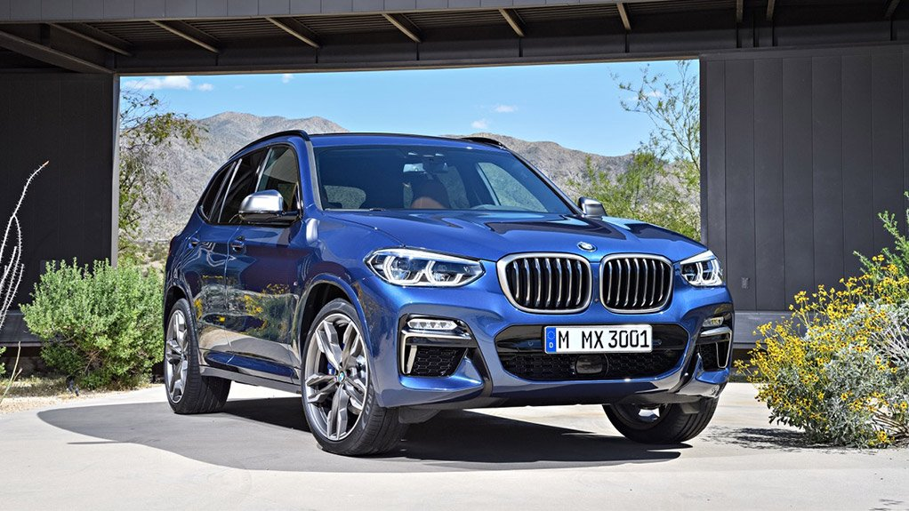 BMW X3 production starts at Rosslyn plant