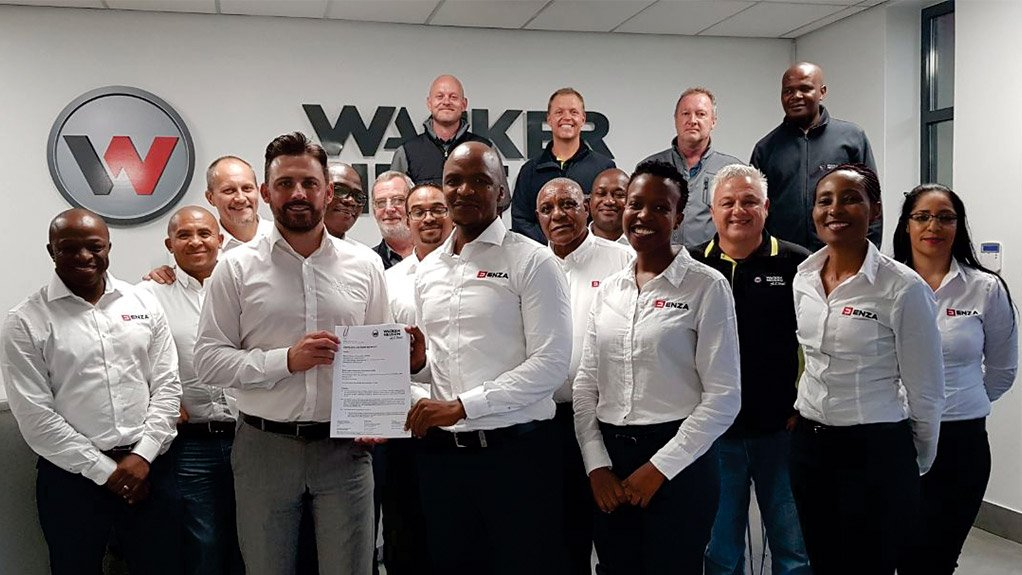 Wacker Neuson concludes ground-breaking black-owned dealer / distribution agreement with Enza Capital Equipment