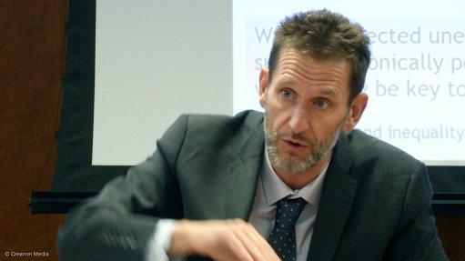 World Bank's program leader Sebastien Dessus