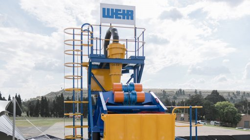 LOCAL PRODUCT The sand plant is custom-designed to maximise efficiency