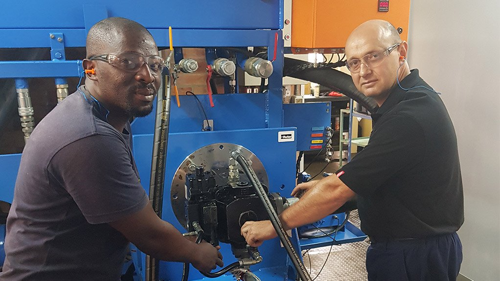 EXPANSION  Africa is a growth market for the hydraulics industry