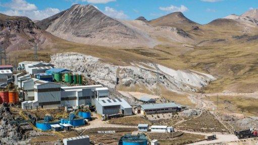 Pallancata mine, Peru