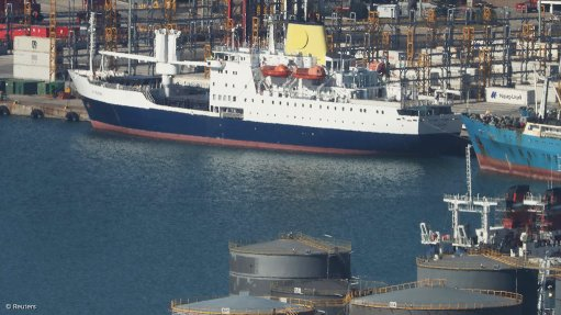 St Helena's cherished lifeline ship to return as anti-piracy armoury