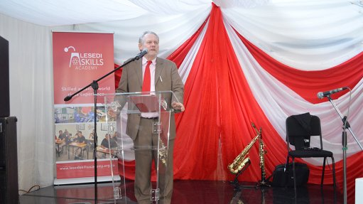 Davies launches Lesedi skills development academy in Atlantis