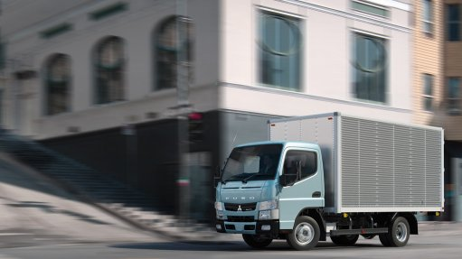 Fuso aims for a 10% share in South Africa's new-truck market