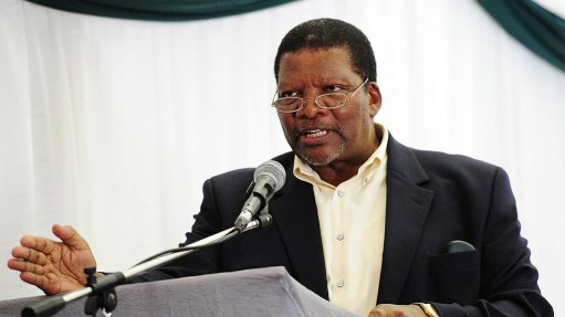 Water dept is in 'shambles', admits Nkwinti after taking over from Mokonyane