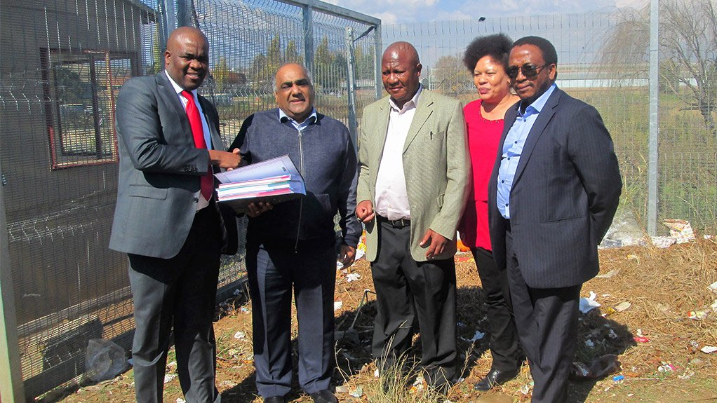 Official representatives of various stakeholders were at the industrial park on Thursday for the official handover of the site to the Free State Development Corporation