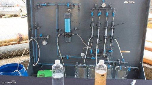 Mintek showcases   developed water  rehabilitation technologies