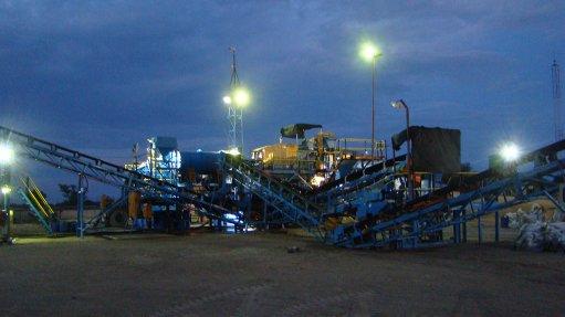 Diamond evaluation  sampling progressing at Botswana BK16 project