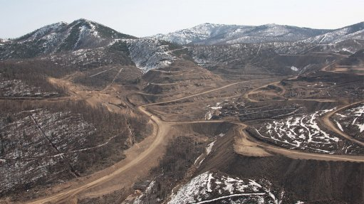 Albazino mine, Russia