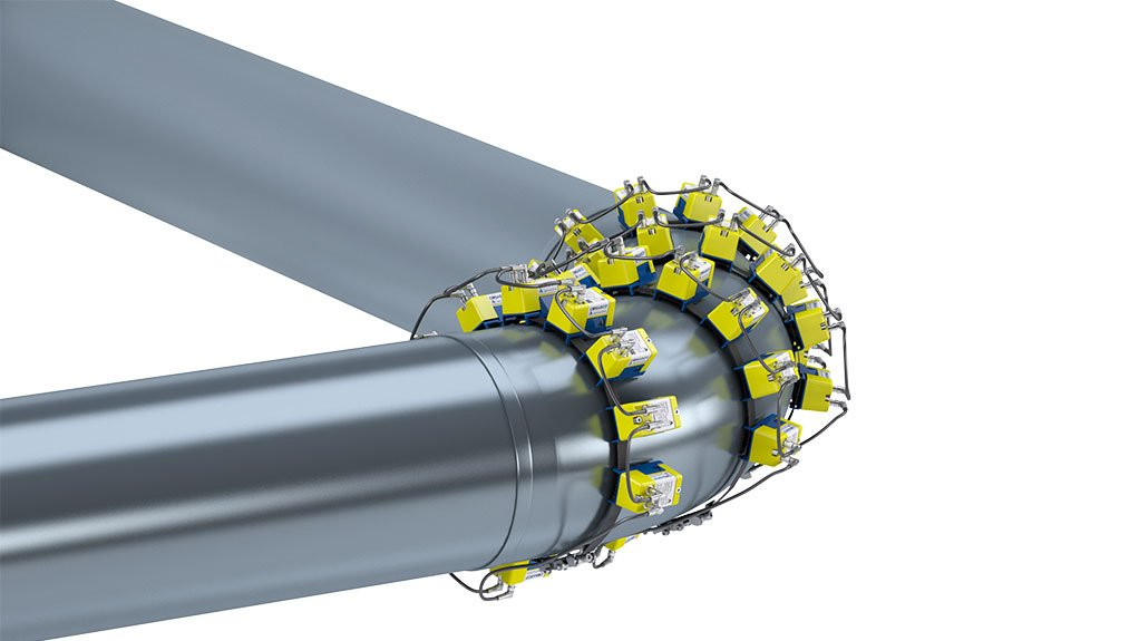 CORROSION MONITOR Swarm provides rapid response to wall thickness changes in pipes and vessels