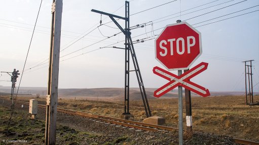 TUMULTUOUS TRACKS In April, a vehicle and train collided at a level-crossing in the Western Cape when the vehicle apparently attempted to cross the railway tracks when it was not safe to do so