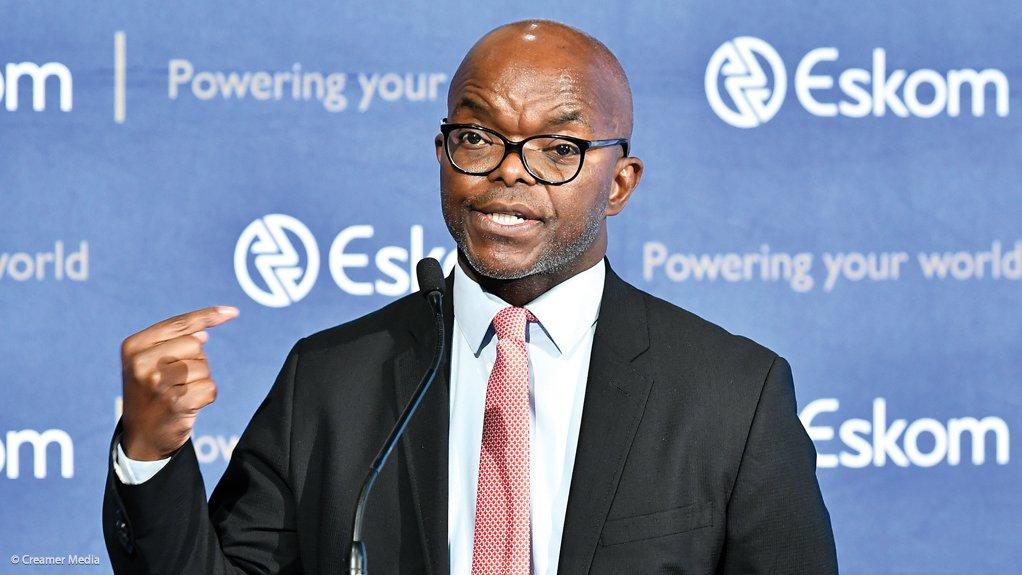 Eskom CEO Phakamani Hadebe