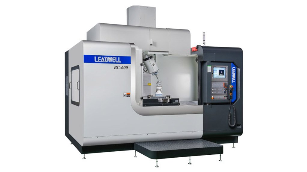 RECENT RELEASE The Leadwell BC-600 5-axis Long Table Machining, is available in 3+2 and 5-axis simultaneous configurations