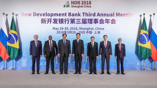 Brics' New Development Bank approves six project loans totalling $1.6bn