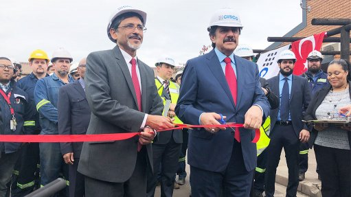 Cape Town Iron and Steel Works officially opened