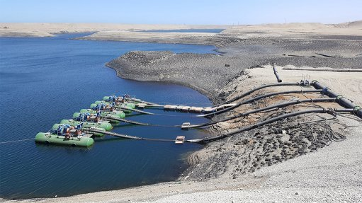 Rapid dewatering pumps ensure safer diamond mining