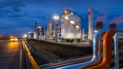 Fluor completes oxygen train project for Sasol Secunda