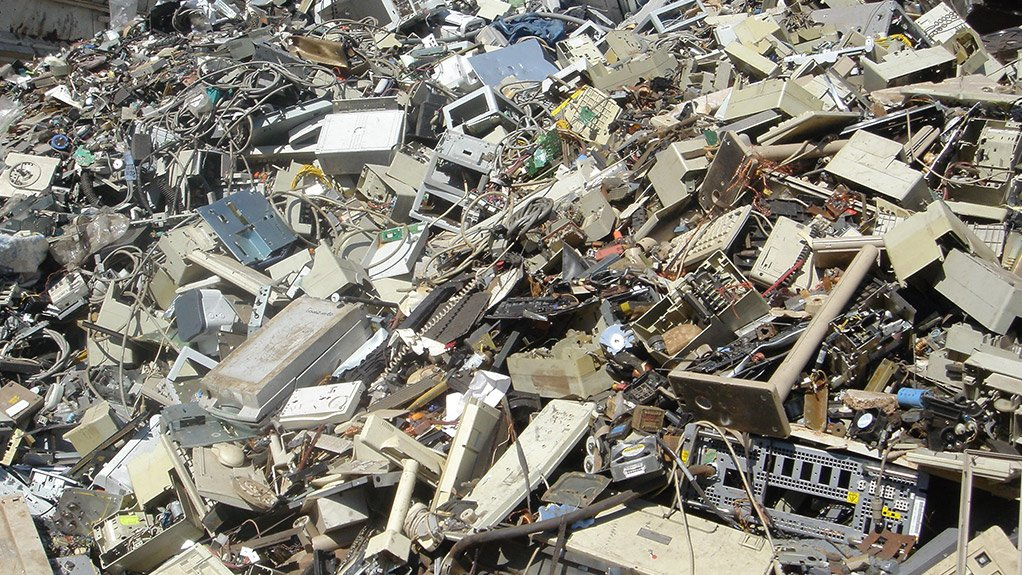 Electronic waste dumped in Africa by developed countries to supposedly be reused, can end up in landfills