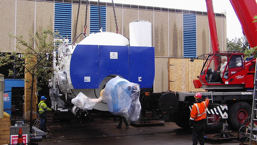 BOILER DISTRIBUTION Steam Generation Africa is the local distributor for boiler specialists Cochran UK products