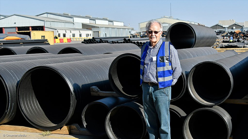 JAN VENTER Pipes form part of the infrastructure; therefore, they are essential to the development of the country