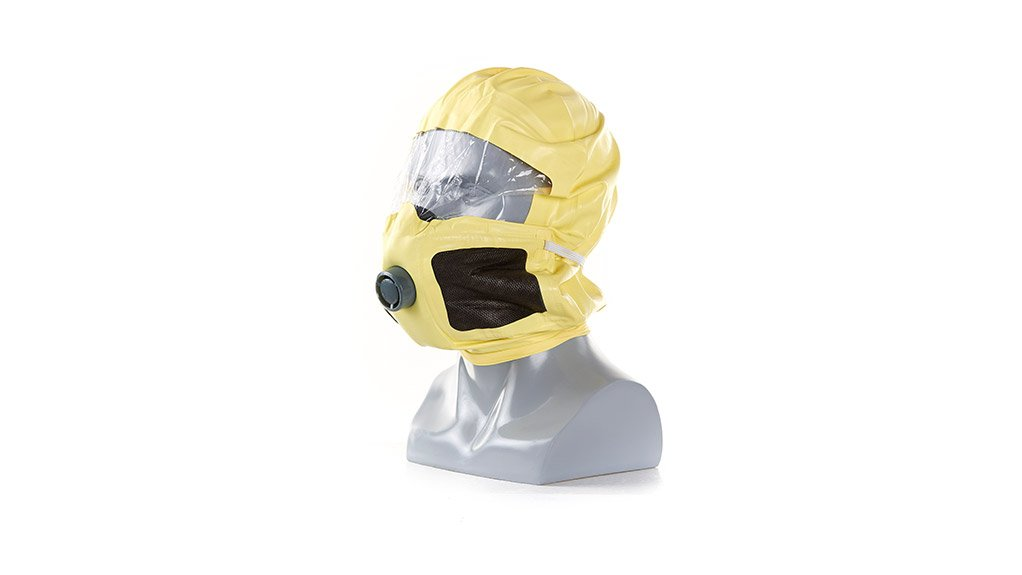 FULL FACIAL PROTECTION The Duram escape mask is the only mask on the market that uses a full facial hood, providing enhanced protection