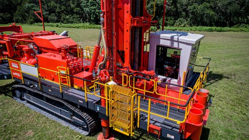 Sandvik offers safe,  dependable blast drilling
