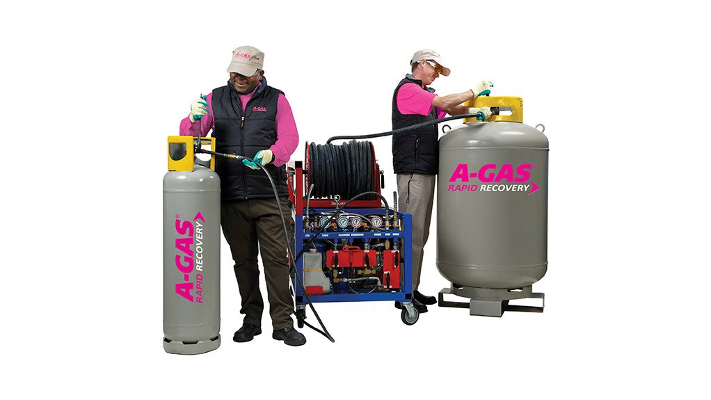 RAPID RECOVERY A-Gas Rapid Recovery is a complete refrigerant-recovery solution with unmatched recovery speeds and a refrigerant buy-back programme