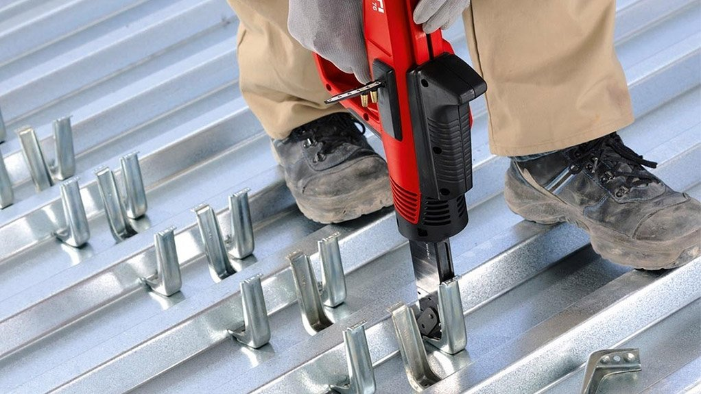 WELD FREE  The Hilti X-HVB shear connector system does not require welding