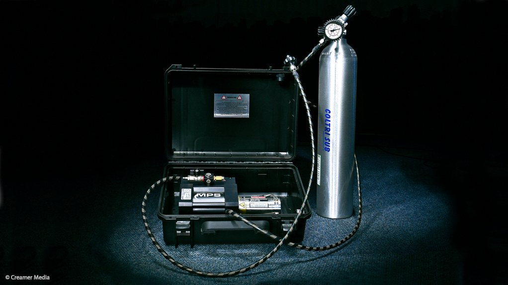 SLEEK DESIGN The smaller, more compact MPS Booster pump can be taken anywhere in its specially designed hard explorer case